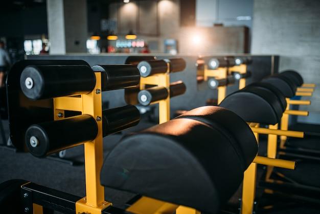 Gym niemand, lege fitnessclub