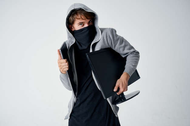 Haardikte masker geheimhouding techniek winkel penetratie