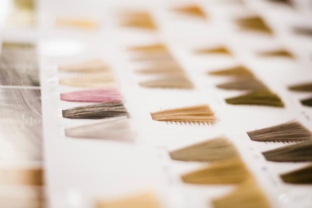Haarkleuren catalogus