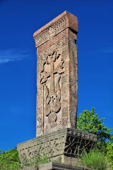 Haghpat-klooster in de bergen van de kaukasus, armenië