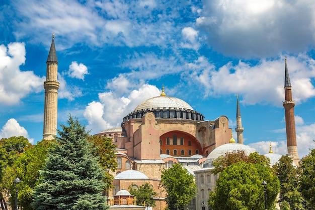 Hagia sophia-kerk in istanboel, turkije