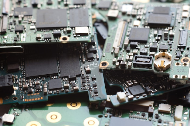 Halfgeleider in printplaat, technische achtergrond,
