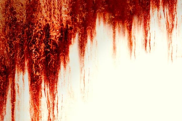 Halloween-achtergrond. bloed textuur achtergrond. textuur van betonnen wand met bloedige rode vlekken.