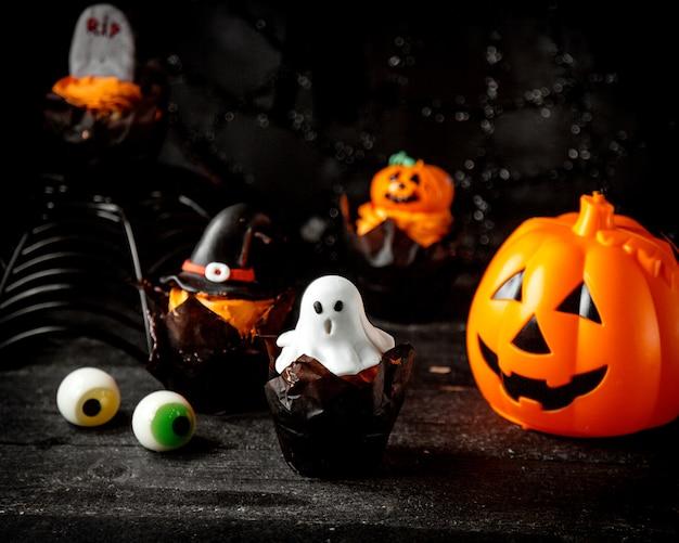 Halloween concept op tafel