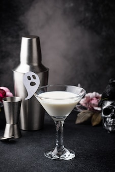 Halloween kokos cocktail