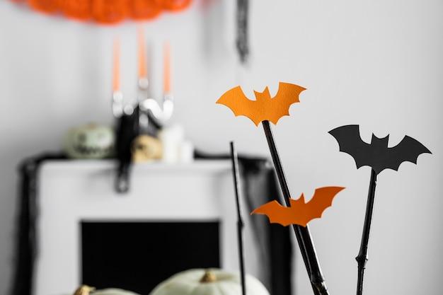 Halloween ornamenten van de close-up