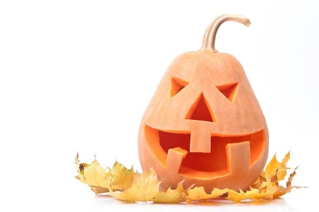 Halloween pompoen geïsoleerd