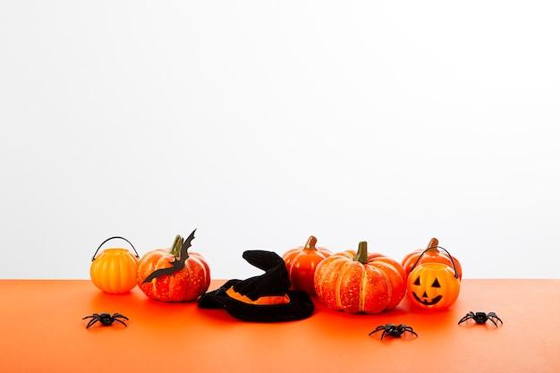 Halloween pompoen lantaarn vloer oranje