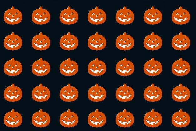 Halloween-pompoenenpatroon