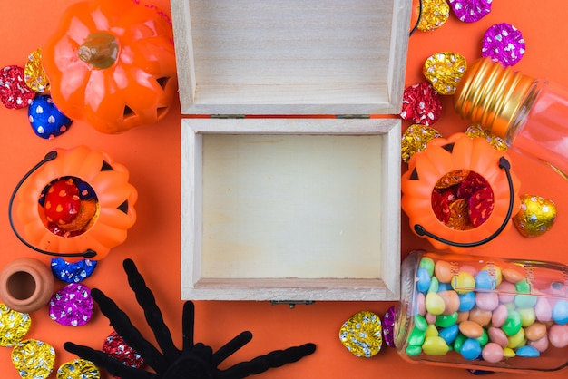 Halloween-vakantieachtergrond