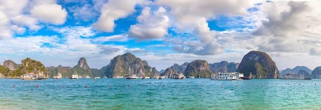 Halong baai in vietnam