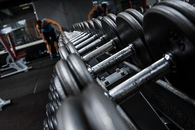 Halters in de sportschool