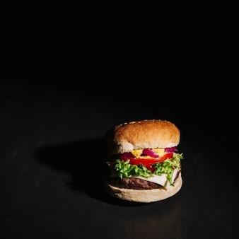 Hamburger presentatie