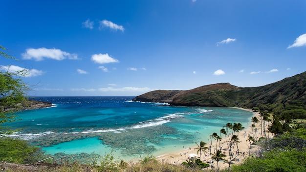 Hanauma-baai, snorkelparadijs op hawaï