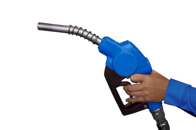 Hand en brandstofleiding