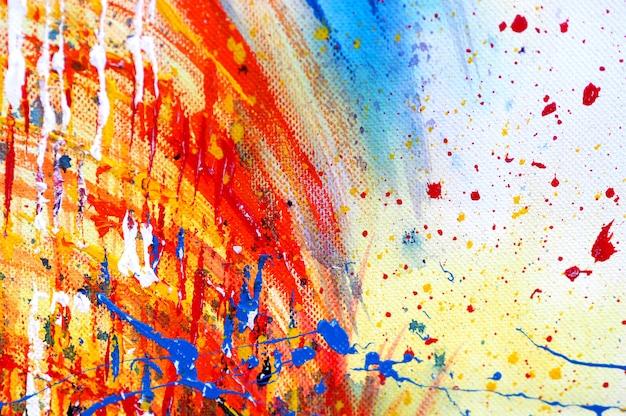 Hand tekenen kleurrijke aquarel