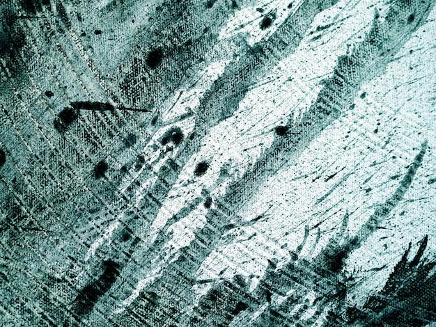 Hand tekenen penseelstreek olieverfschilderij groene kleur natuurlijke abstracte achtergrond.