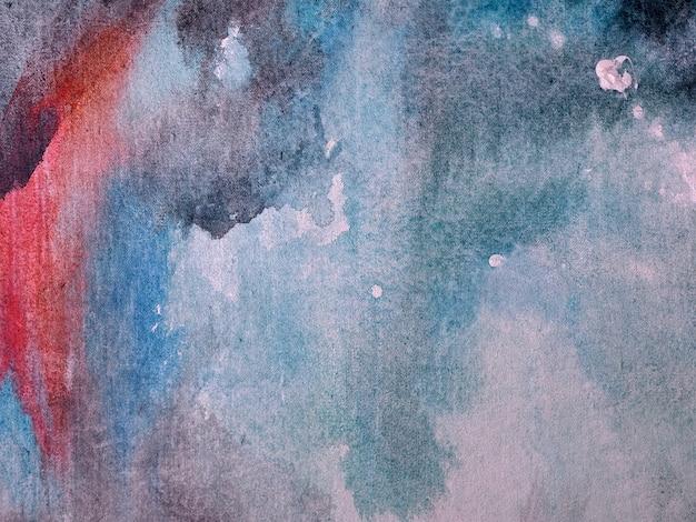 Hand tekenen zachte aquarel abstracte achtergrond en textuur