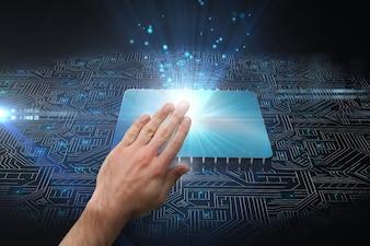 Hand wat betreft microprocessor