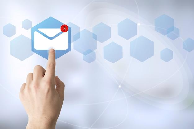 Handaanraking mail