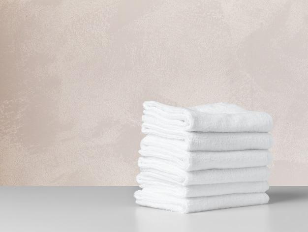 Handdoek op tafel