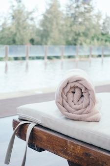 Handdoek zwembad