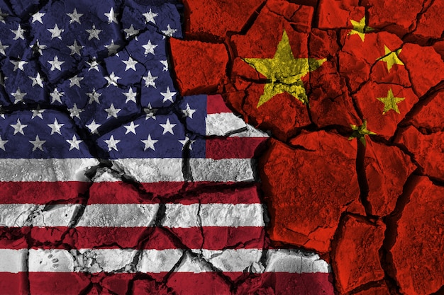 Handelsoorlog tussen de verenigde staten van amerika versus china
