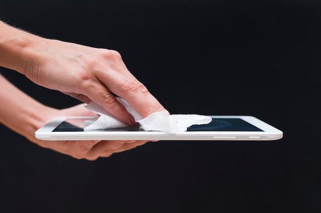Handen desinfecterende tablet