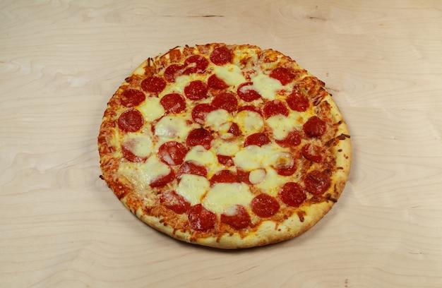 Handen die pizza's snijden - stop-motionanimatie