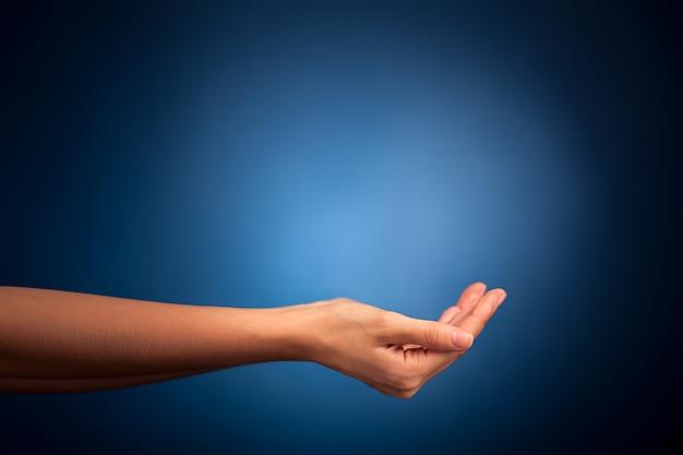 Handen vast te houden