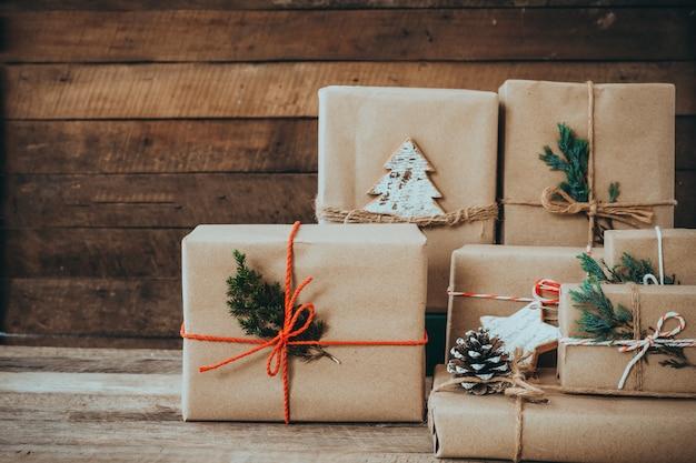 Handgemaakt kerstcadeau voor prettige kerstdagen en nieuwjaarsvakantie