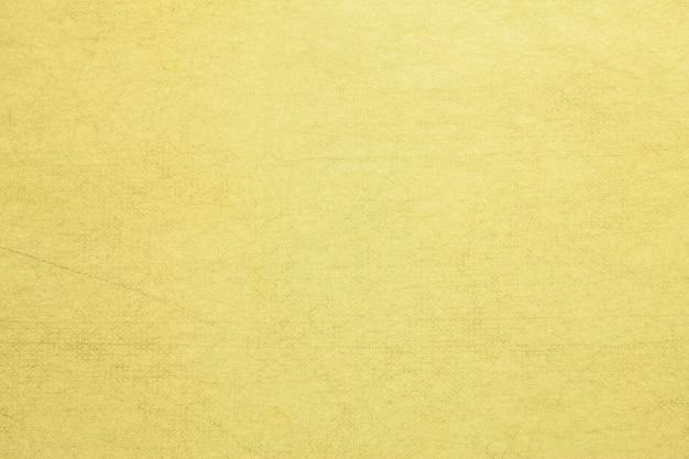 Handgemaakt moerbeipapier gele kleur.
