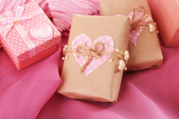 Handgemaakte geschenken op valentijnsdag