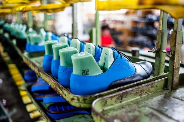 Handgemaakte lederen schoenen van hoge kwaliteit