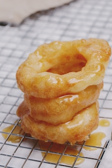 Handgemaakte lekkere donut