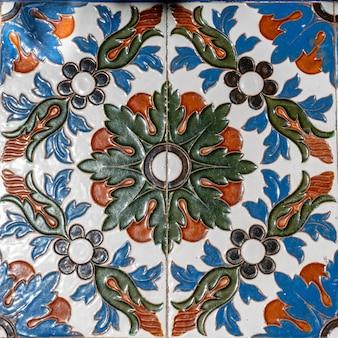 Handgeschilderde arabische tegel - decoratieve kunst