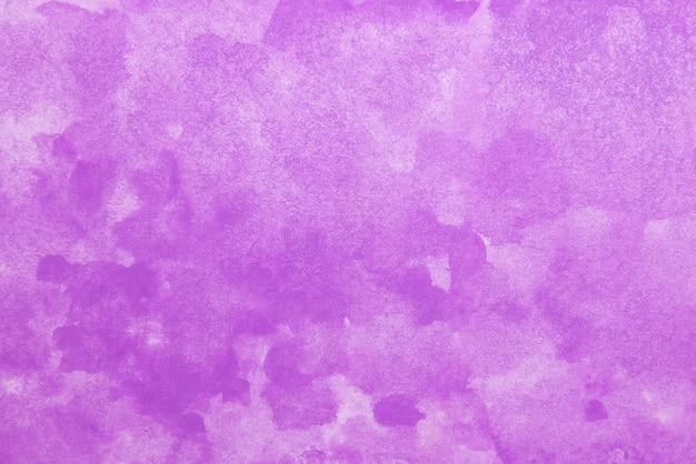 Handgeschilderde paarse aquarel.