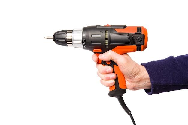 Handheld elektrische schroevendraaier