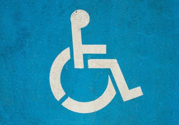 Handicap-symbool