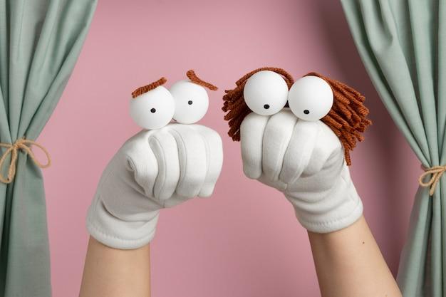 Handpoppenshow voor kinderen