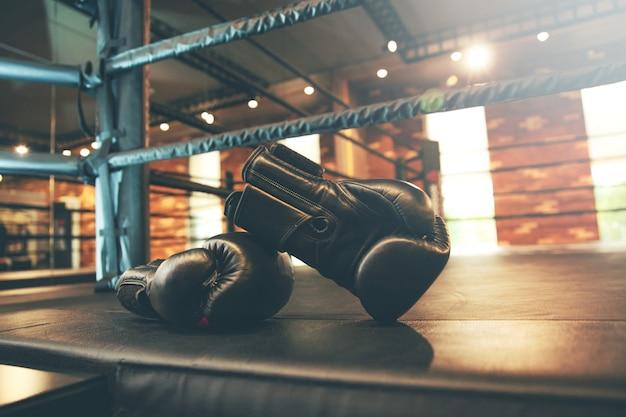 Handschoen in de sportschool