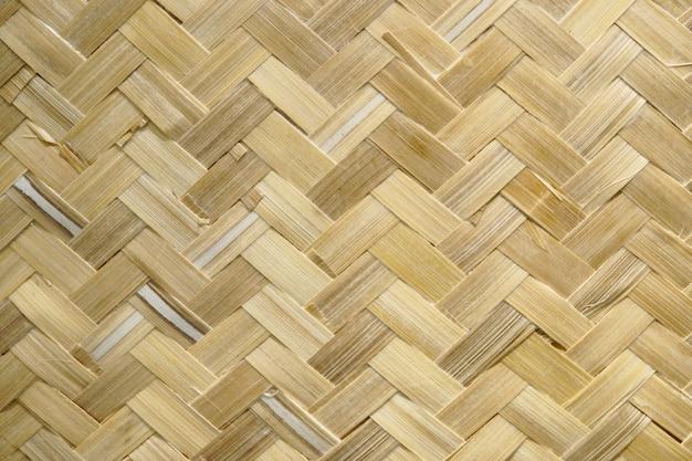 Handwerk weven thaise stijl patroon natuur textuur achtergrond
