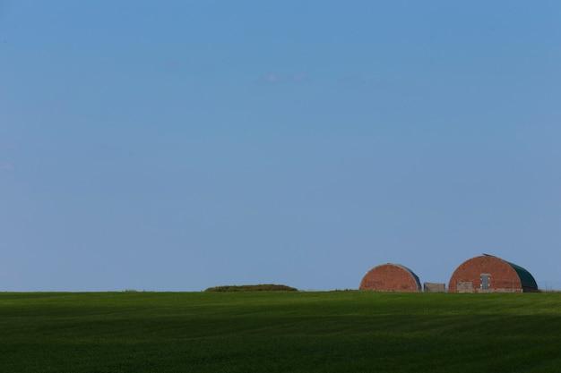 Hangars in de oogst