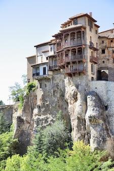 Hangende huizen (casas colgadas) in cuenca, spanje