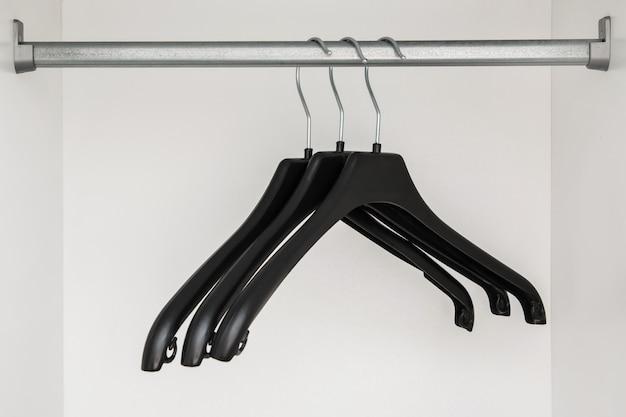 Hangers in de kast