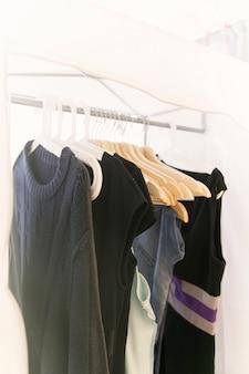 Hangers voor dingen op een hanger