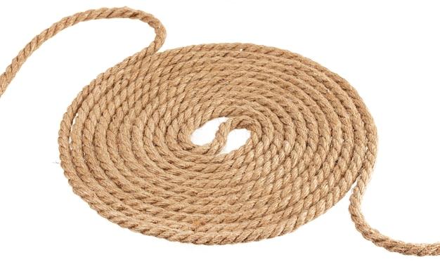 Hank touw geïsoleerd