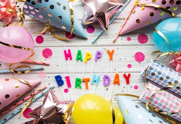 Happy birthday achtergrond