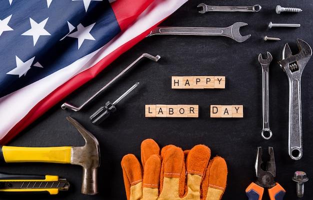 Happy labor day-samenstelling