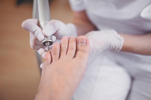 Hardware medische pedicure met nagelvijlboorapparaat